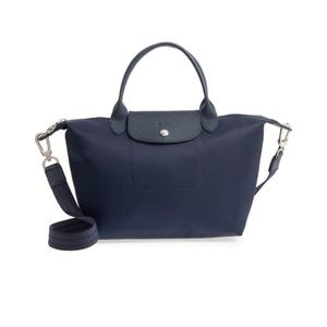 Longchamp Le Pliage Small Neo Nylon Bag (Navy).